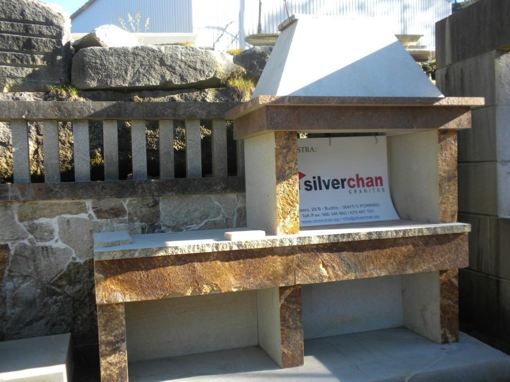 Barbacoa Exterior en Granito   Silverchan