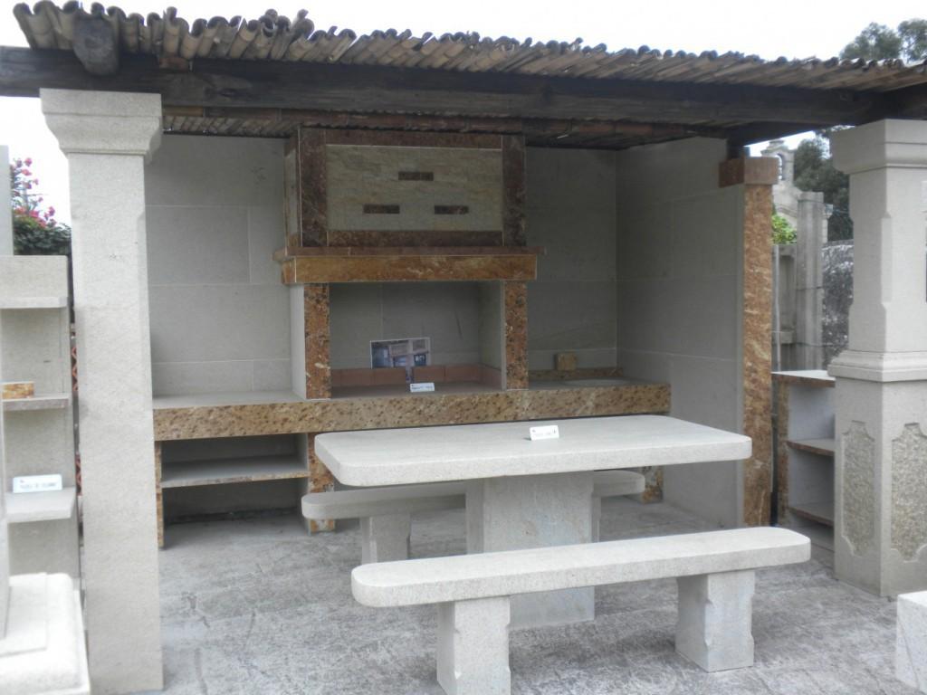 Barbacoas silverchan for Tejados de madera para barbacoas